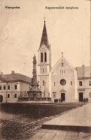 Veszprém, Kegyesrendiek temploma, Ludassyné kiadása