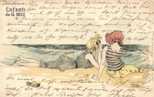 1901 Enfants de la Mer I. Christoph Reissers Söhne s: Raphael Kirchner (EB)