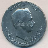 1918. Sebesültek Érme cink kitüntetés mellszalag nélkül. Szign.: R. Placht T:2 fülnyom, ph.