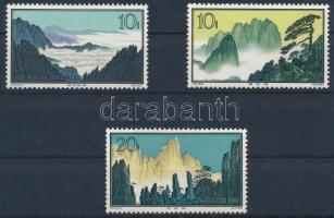 Kínai Népköztársaság 1963 Tájak Mi 752, 753, 756 (** Mi EUR 260.-)