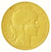 Franciaország 1901. 20Fr Au (6,41g/0.900) T:2  France 1901. 20 Francs Au (6,41g/0.900) C:XF Krause KM#847