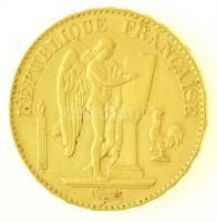 Franciaország 1897A 20Fr Au (6,44g/0.900) T:2 / France 1897A 20 Francs Au (6,44g/0.900) C:XF Krause KM#825