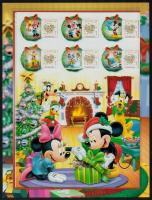 Disney christmas 2 minisheets (Winnie-the-Pooh and Mickey Mouse), Disney Karácsony 2 kisív (Micimackó és Mickey Mouse)