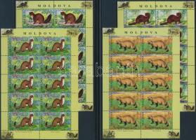 Animals minisheet set, Állatok kisívsor