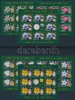 Flowers minisheet set, Virágok kisívsor