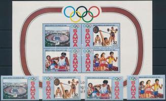 Olympics Los Angeles set + block, Olimpia Los Angeles sor + blokk