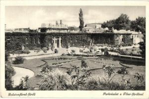 Balatonfüred, Park, Tibor fürdő (EK)
