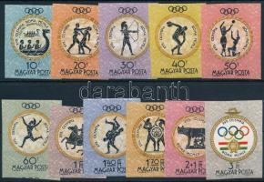 1960 Olimpia (III.) - Róma vágott sor (4.000)