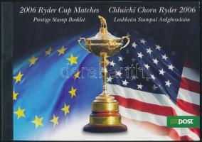 Golf stamp booklet, Golf bélyegfüzet