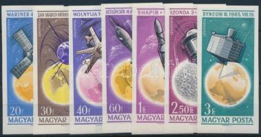 1965 Az űrkutatás eredményei (II.) vágott sor (3.000)