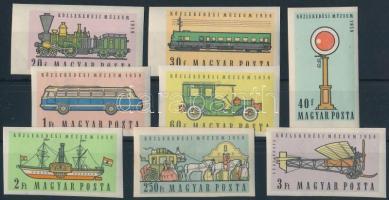 1959 Közlekedési múzeum (I.) vágott sor (10.000)