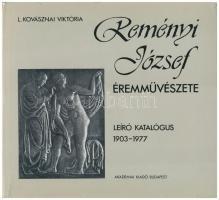 L. Kovásznai Viktória: Reményi József éremművészete. Leíró katalógus 1903-1977. Budapest, Akadémia Kiadó, 1980. Jó állapotban, külső védőborítón kis szakadások.
