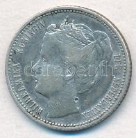 Curacao 1900. 1/4G Ag T:2 Curacao 1900. 1/4 Gulden Ag C:XF Krause KM#35