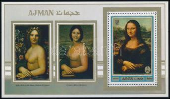 1970 Mona Lisa blokk Mi 192A