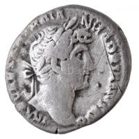 Római Birodalom / Róma / Hadrianus 119-122. Denár Ag (3,08g) T:2-,3 k. Roman Empire / Rome / Hadrian 119-122. Denarius Ag IMP CAESAR TRAIAN HADRIANVS AVG / P M TR P COS III (3,08g) C:VF,F scratch RIC II 110.
