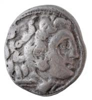 Makedónia / Kolophón / III. Alexandrosz ~322-319. Drachma Ag (4,12g) T:2-,3 Macedon / Kolophon / Alexander III ~322-319. Drachm Ag ALEXANDROU - B (4,12g) C:VF,F Price 1770.
