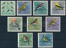 1966 Madarak sor, Birds set Mi 1718-1726