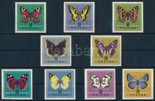 Butterfly set, Lepkék sor