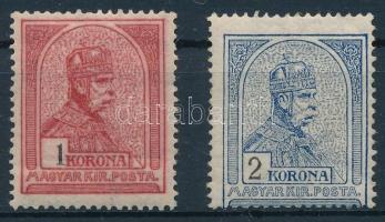 1909 1 K, 2 K (23.500)