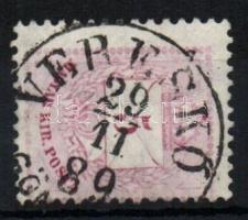 1881 5kr VERESKŐ GÖM(ÖR M)
