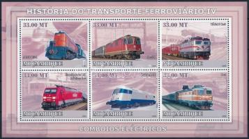 Rail transport minisheet, Közlekedési eszközök: vasút kisív
