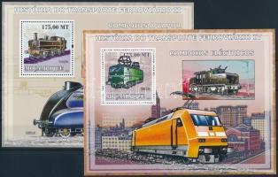 Rail transport 2 blocks, Közlekedési eszközök: vasút 2 db blokk