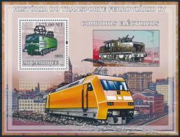 Rail transport block, Közlekedési eszközök: vasút blokk