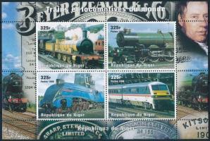 Railway minisheet, Vasút kisív