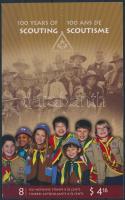 Scouts stamp booklet, Cserkész bélyegfüzet