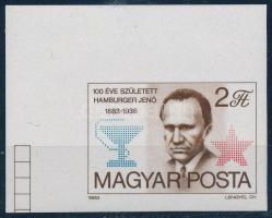 1983 Hamburger Jenő ívsarki vágott bélyeg (1.200)