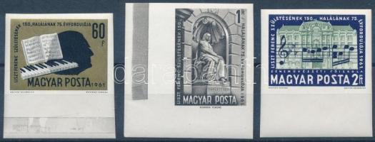 1961 Liszt Ferenc (I.) ívszéli vágott sor (5.000)