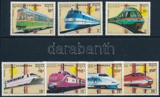 1989 Vasút sor, Railway set Mi 1007-1013