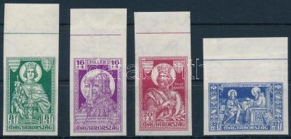 1930 Szent Imre vágott ívszéli sor (30.000)