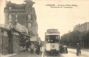 Gargan, Avenue Victor Hugo, Terminus du Tramway / tram station