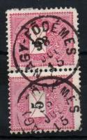 1889 5kr pár NAGY-FÖDÉMES