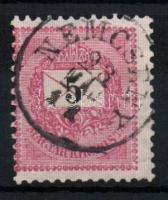 1889 5kr NEMCSÉNY