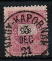 1889 5kr NAGY-KAPORNAK