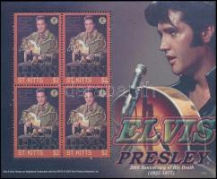 Elvis Presley mini sheet, Elvis Presley kisív