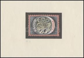 ~1960 Légrády Sándor Portó bélyegterv 20 aláírás nélkül (53 x 62 mm, illetve 70 x 50 mm)