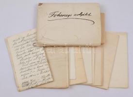 cca 1890-1923 Kokas József (?-?) királyi tanácsos, József főherceg kisjenői uradalmi intézőjének iratai, nagyrészt hozzá írt levelek (többek között Libits Adolf központi jószágigazgatótól), érdekes anyag