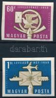 1958 Levelező hét vágott sor (8.000)