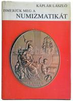 Káplár László: Ismerjük meg a numizmatikát. Budapest, Gondolat, 1984. Használt, külső borítón kis szakadások.