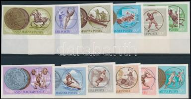 1965 Olimpiai érmesek ívszéli vágott sor (4.000)