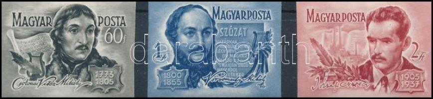 1955 Költők vágott sor (8.000)