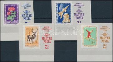1965 Bélyegnap ívszéli vágott sor (4.000)