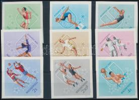 1965 Universiade vágott sor (4.500)