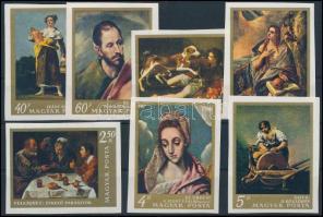 1968 Festmények vágott sor (4.000)