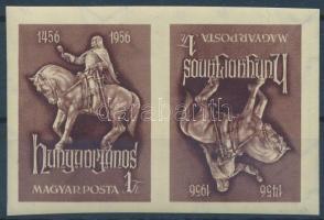 1956 Hunyadi János fordított állású vágott pár (30.000)