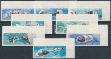 1966 Űrpárosok ívsarki vágott sor (4.500)