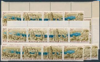 1961 Bélyegnap 13 db csík (10.400)